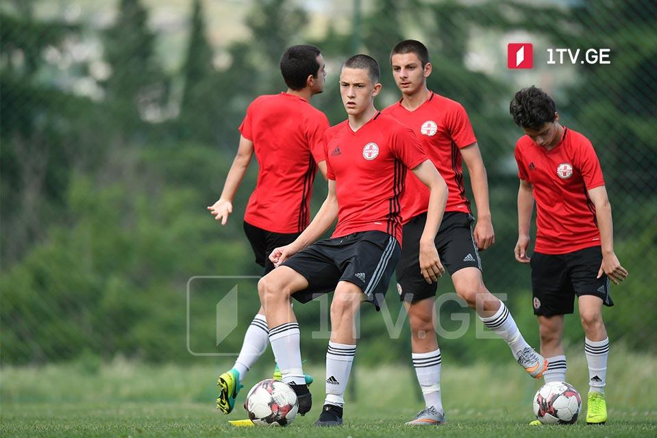 U17-წლამდელები ამხანაგურად აზერბაიჯანს შეხვდებიან - ჩიტაურმა იტალიაში ქართველი ნახევარმცველი აღმოაჩინა #1TVSPORT
