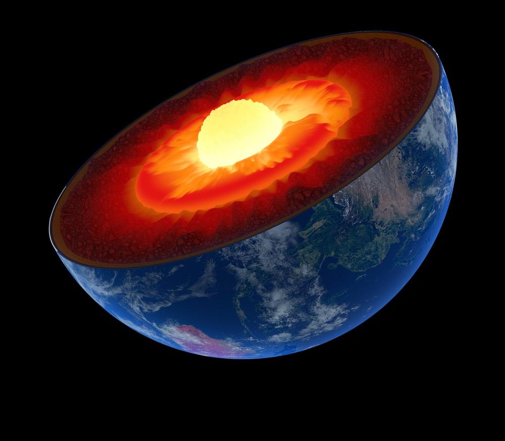 დედამიწის კრისტალიზებული რკინის შიდა ბირთვი სავარაუდოდ გამრუდებულია — ახალი კვლევა #1tvმეცნიერება