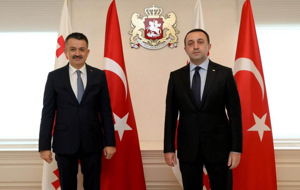 Georgian PM meets Turkish Minister of Agriculture