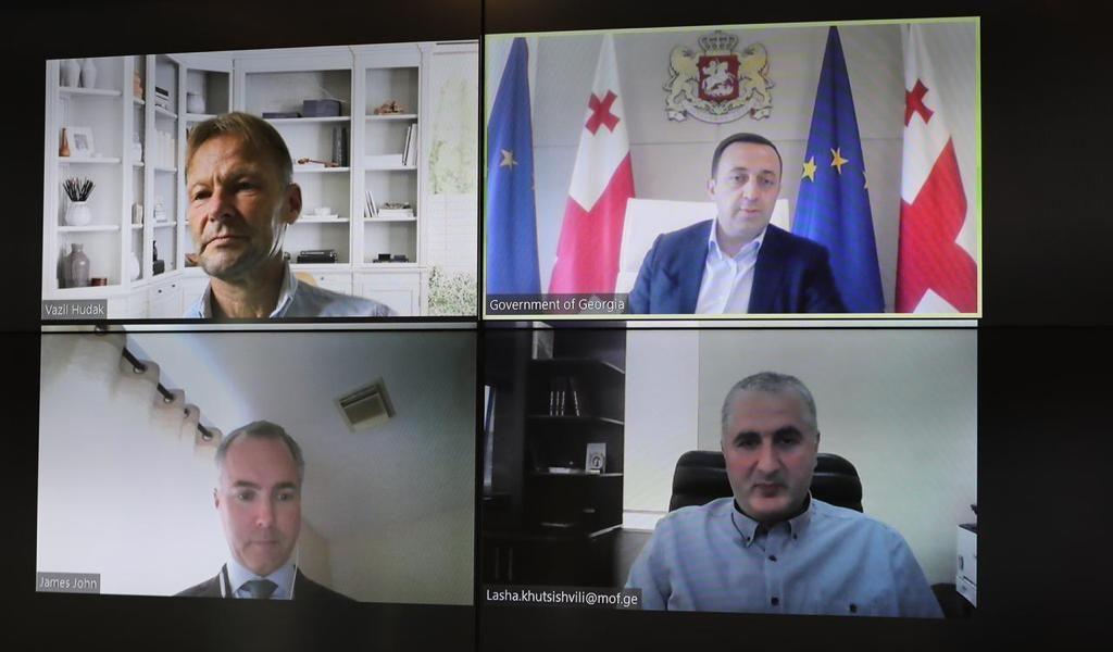 Ираклий Гарибашвили встретился с главой миссии Международного валютного фонда в Грузии