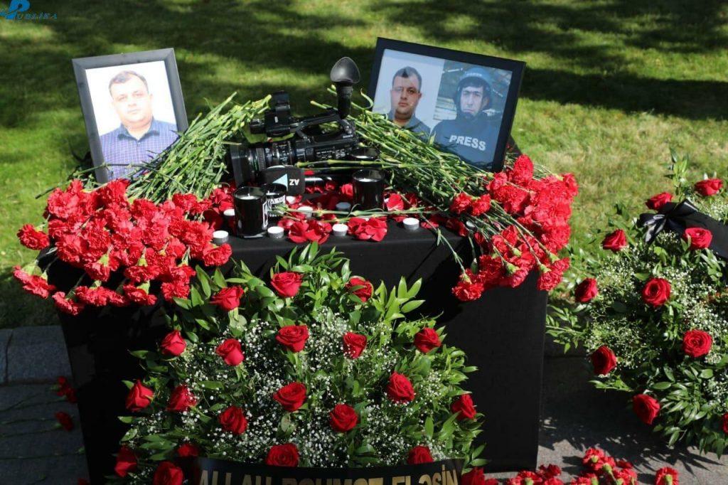 Сегодня в Азербайджане похоронят журналистов, погибших в Кельбаджарском районе
