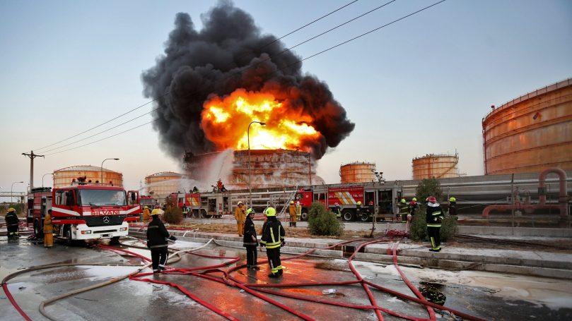 ირანის ფოლადის ქარხანაში აფეთქება მოხდა