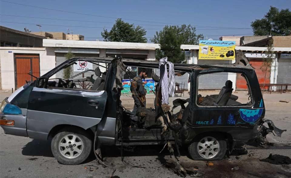 ავღანეთის ჩრდილოეთში აფეთქებას 11 ადამიანი ემსხვერპლა