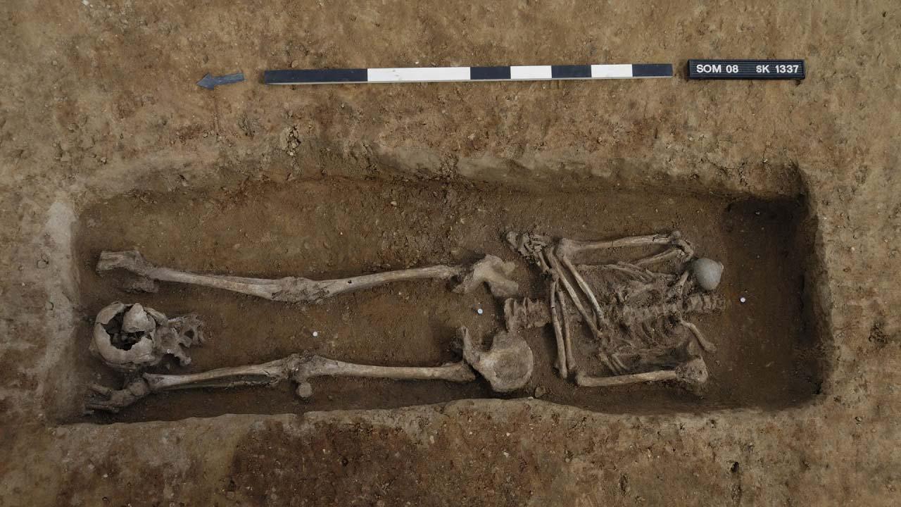 უძველეს რომაულ სასაფლაოზე 17 თავმოკვეთილი ჩონჩხი აღმოაჩინეს — #1tvმეცნიერება