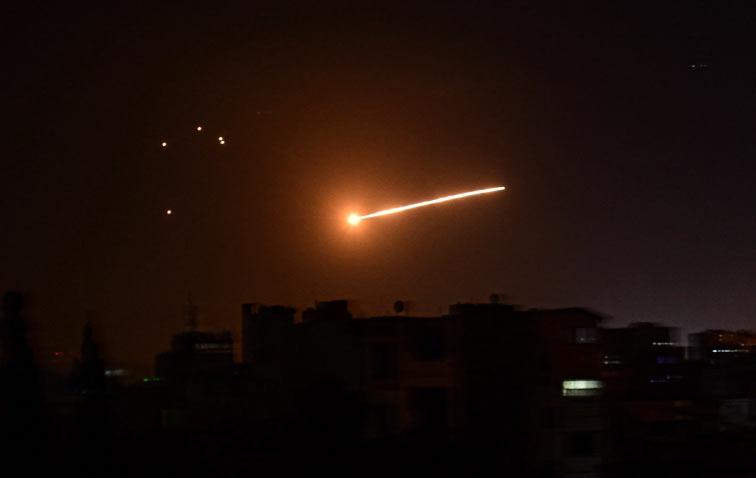 ისრაელის სამხედრო ავიაციამ სირიის სამთავრობო არმიის პოზიციებზე იერიში განახორციელა