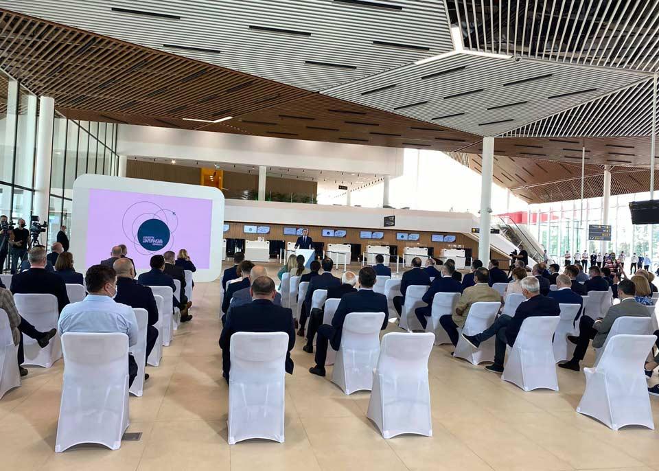 Yenilənmiş Kutaisi Beynəlxalq Hava Limanı rəsmi olaraq açıldı