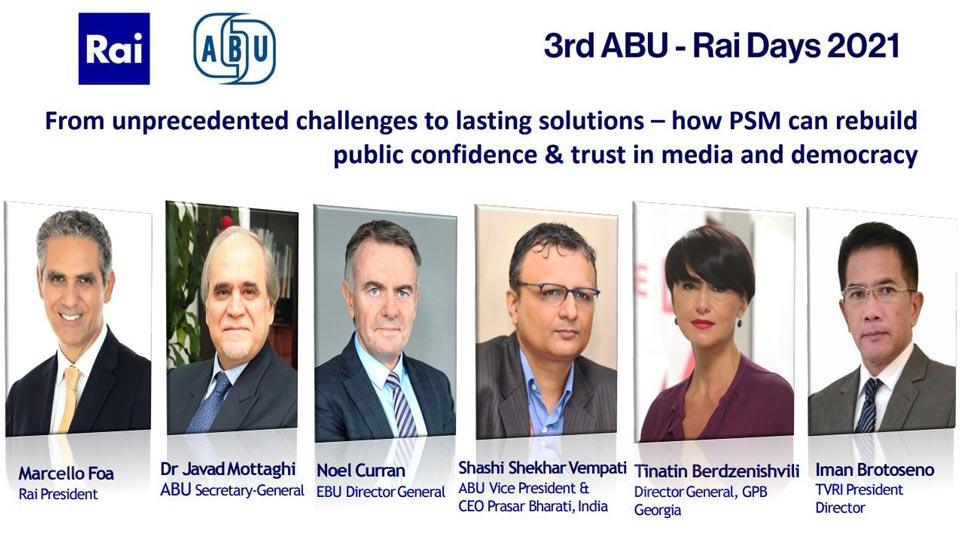 Тинатин Бердзенишвили - спикер вебинара ABU-RAI Days Общественного вещателя Италии (RAI) и Азиатско-Тихоокеанского вещательного союза