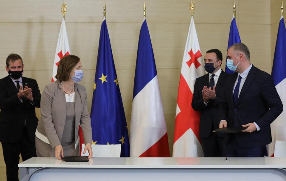 საქართველო სამიწლის განმავლობაში საფრანგეთისგან დახმარების სახით 483 მილიონი ევროს დაფინანსებას მიიღებს