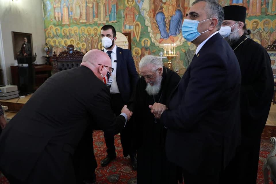 Филипп Рикер - Я передал Илия II приветствия Энтони Блинкена и Джо Байдена, которые ценят религиозные традиции Грузии