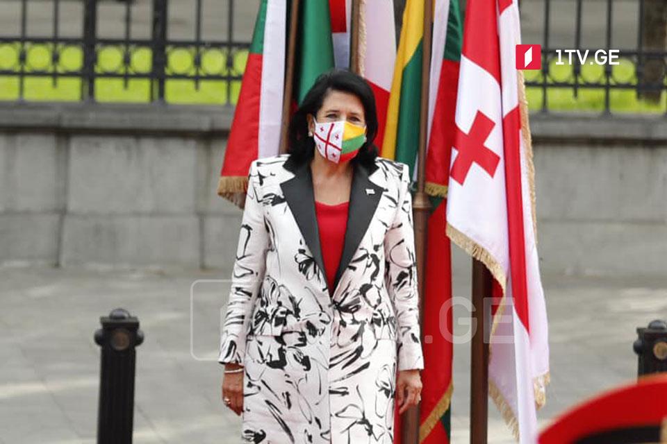 Саломе Зурабишвили - Для нашей страны очень важно знать, что у нас есть такой друг в лице Литвы