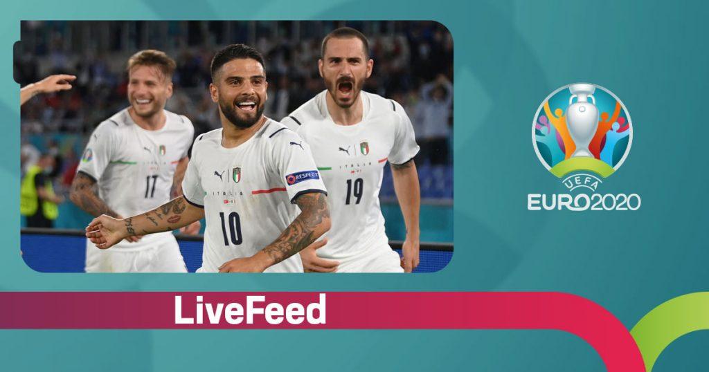LiveFeed ევრო 2020-ის გახსნის მატჩი - თურქეთი VS იტალია 0:3 [ვიდეო] #1TVSPORT