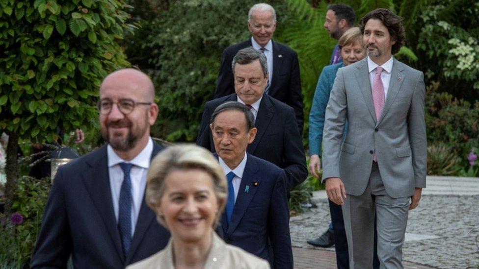 """""""დიდი შვიდეულის"""" ლიდერები პანდემიასთან ბრძოლის გლობალური დეკლარაციის შემუშავებას გეგმავენ"""