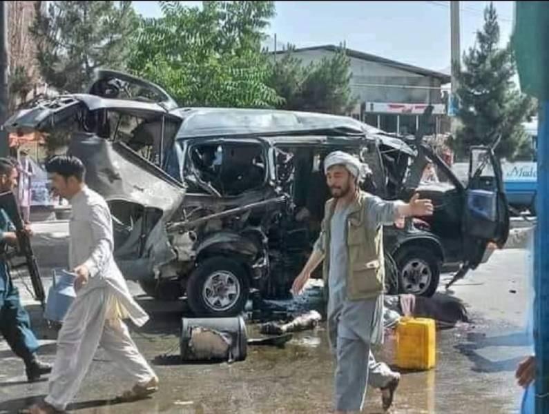 ქაბულში ორი ავტობუსის აფეთქების შედეგად სულ მცირე შვიდი ადამიანი დაიღუპა