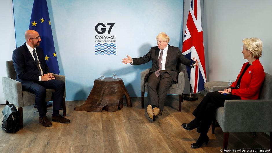 """ევროკავშირი, საფრანგეთი და აშშ ბრიტანეთს """"ბრექსითის"""" ხელშეკრულებით გათვალისწინებული ვალდებულებების შერულებისკენ მოუწოდებენ"""