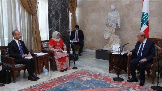 ლიბანის პრეზიდენტი ქვეყანაში არსებული კრიზისის დასაძლევად გაერო-ს დახმარებას სთხოვს