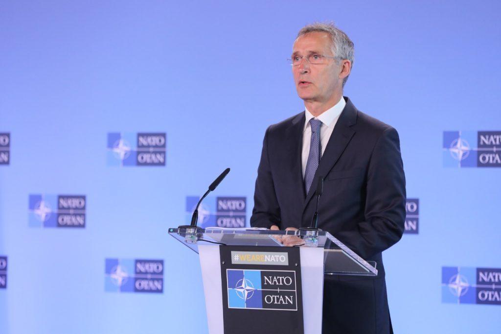 Йенс Столтенберг - Мы продолжим поддерживать реформы Грузии и Украины с целью их приближения к НАТО