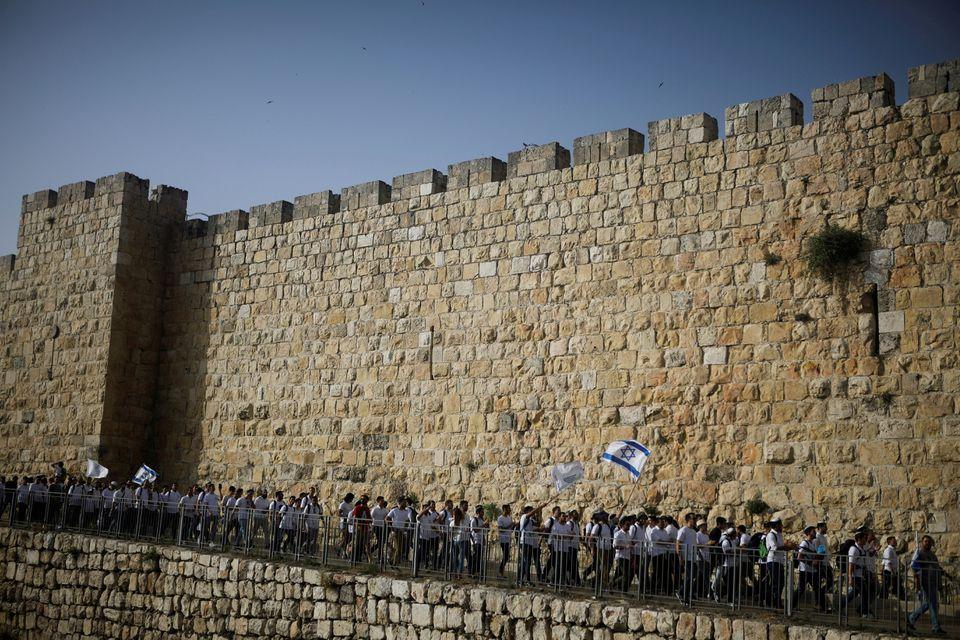 """""""როიტერი"""" - იერუსალიმში ისრაელელი ნაციონალისტების მსვლელობა იგეგმება"""