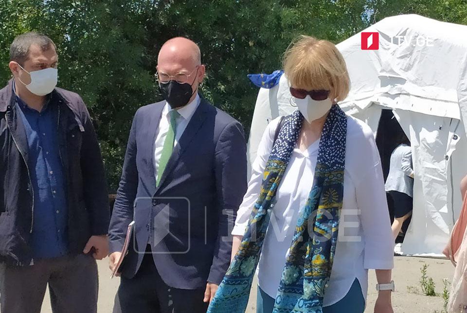 Генсек ОБСЕ приняла участие в заседании группы Механизма превенции инцидентов и реагирования на них в Эргнети