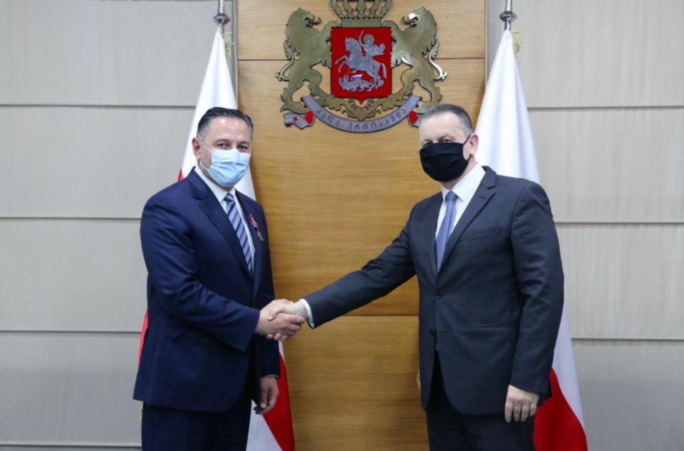 Վրաստանի ներքին գործերի նախարարություն է այցելել Լեհաստանի Հանրապետության ազգային ոստիկանության պատվիրակությունը