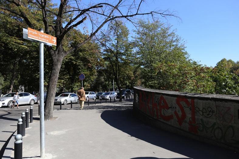 კახა კალაძე - ჯოვანი სკუდიერის ქუჩაზე მხატვრებისთვის, ხალხისთვის, ვინც ამ სივრცეს იყენებს, მოეწყობა შესაბამისი ადგილები, რათა საქმიანობა კომფორტულად გააგრძელონ