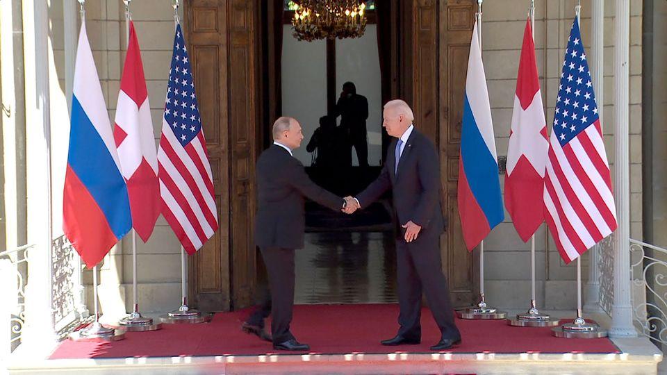 В Женеве началась встреча президентов России и США
