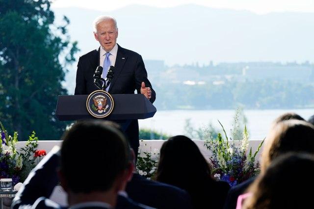 """ჯო ბაიდენი - პუტინს ვუთხარი, რომ ჩემი დღის წესრიგი არის """"არა რუსეთის წინააღმდეგ"""", არამედ """"ამერიკელი ხალხისთვის"""""""