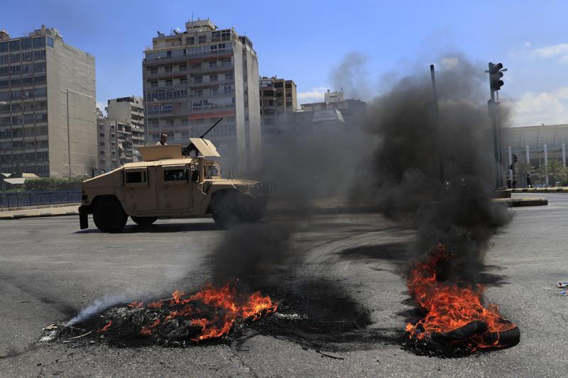 ეკონომიკური კრიზისის გამო ლიბანში გენერალური გაფიცვაა
