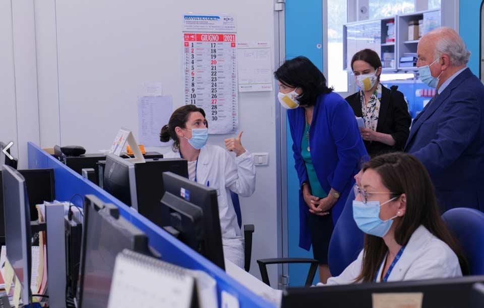 ქართველი ექიმები და ბიოლოგები ვატიკანის ბავშვთა საავადმყოფოს ბაზაზე გადამზადებას გაივლიან