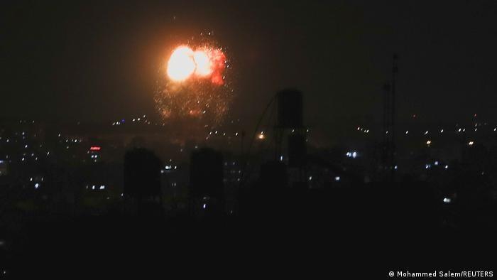 """ისრაელის სამხედრო ავიაციამ ღაზას სექტორში """"ჰამასის"""" ობიექტებზე ავიაიერიშები განახორციელა"""