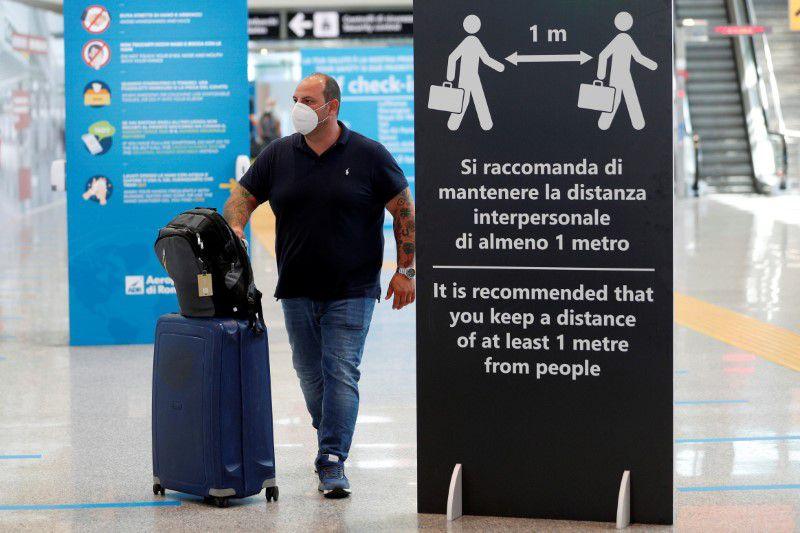 იტალიამ დიდი ბრიტანეთიდან ჩასული ვიზიტორებისთვის ხუთდღიანი კარანტინი დააწესა