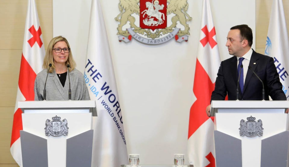 WB's Anna Bjerde: We look forward to Georgia returning to its reform agenda