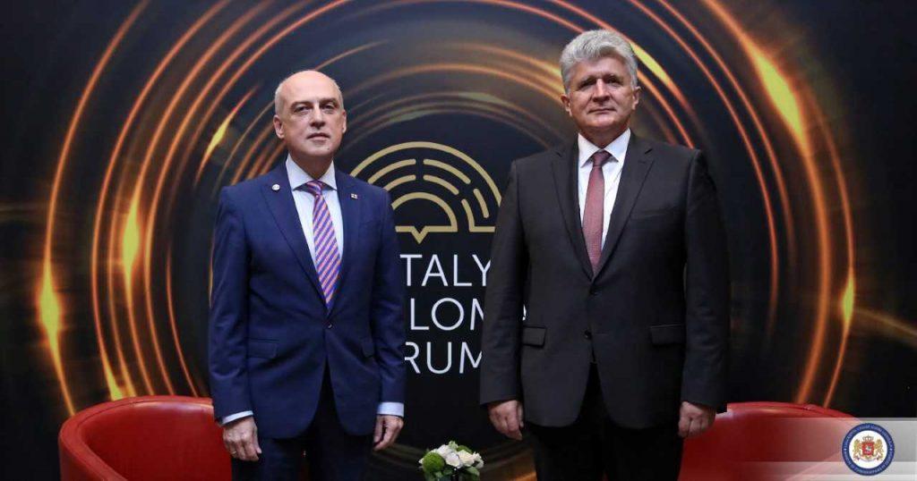 Давид Залкалиани встретился с заместителем генерального секретаря ООН