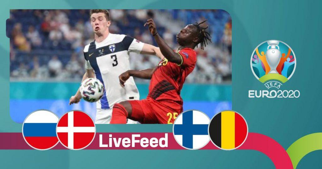 ევრო 2020    ფინეთი VS ბელგია 0:2, რუსეთი VS დანია 1:4 [ვიდეო] #1TVSPORT