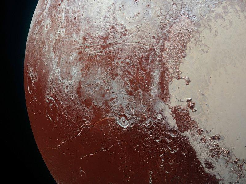 პლუტონზე არსებული წითელი ვაკეები შეიძლება ის არ არის, რაც აქამდე გვეგონა — #1tvმეცნიერება