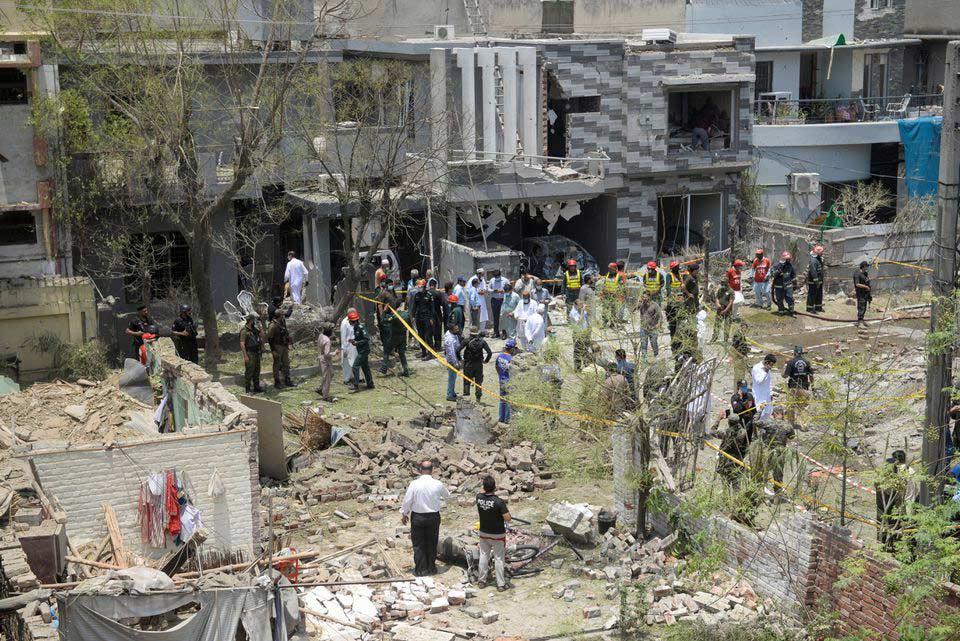 პაკისტანის ქალაქ ლაჰორში აფეთქების შედეგად სამი ადამიანი დაიღუპა, 14 კი დაშავდა