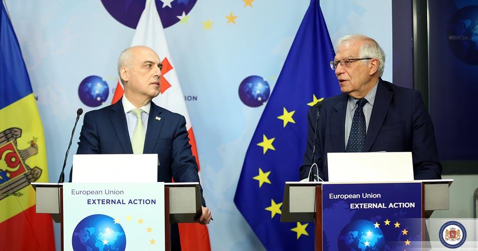 ჯოზეფ ბორელი- ევროკავშირი უნდა ამაყობდეს, რომ ჩვენს პარტნიორებს სურთ ევროკავშირთან დაახლოება და მასში გაწევრიანება