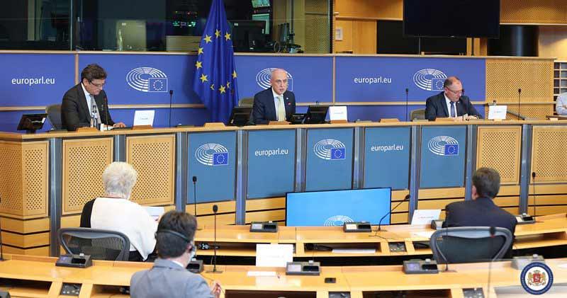 ასოცირებული ტრიოს ქვეყნების საგარეო საქმეთა მინისტრებმა ევროპარლამენტში შეხვედრა გამართეს