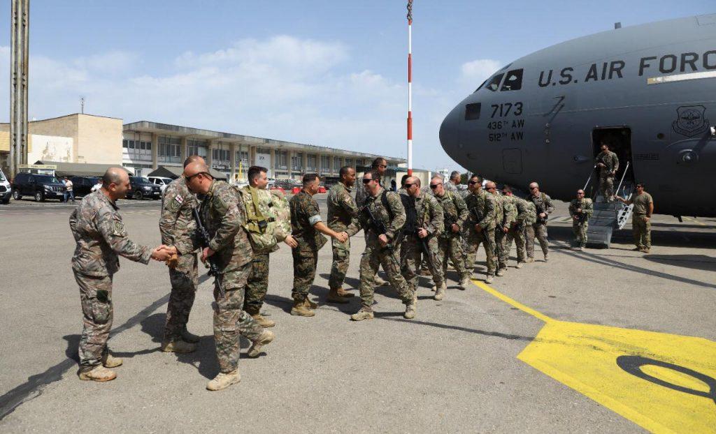 ავღანეთიდან საქართველოში სამხედრო მოსამსახურეების მორიგი ნაკადი დაბრუნდა