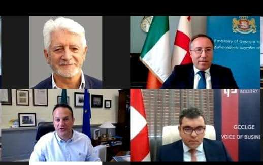 ირლანდიაში საქართველო-ირლანდიის ბიზნეს საბჭოს საინაუგურაციო კონფერენცია გაიმართა