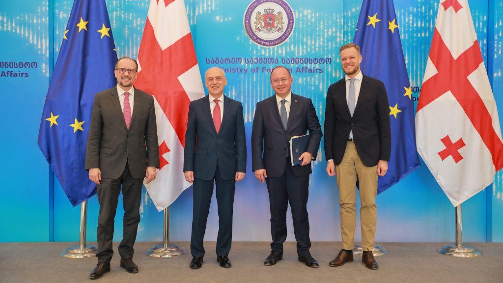 Габриэлиус Ландсбергис - Я передал Ираклию Гарибашвили и Давиду Залкалиани месседж поддержки от ЕС