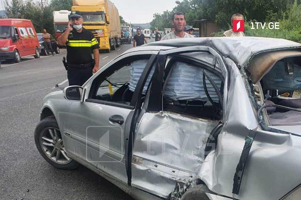 სოფელ ჩაილურში ავტოსაგზაო შემთხვევის შედეგად ერთი ადამიანი გარდაიცვალა