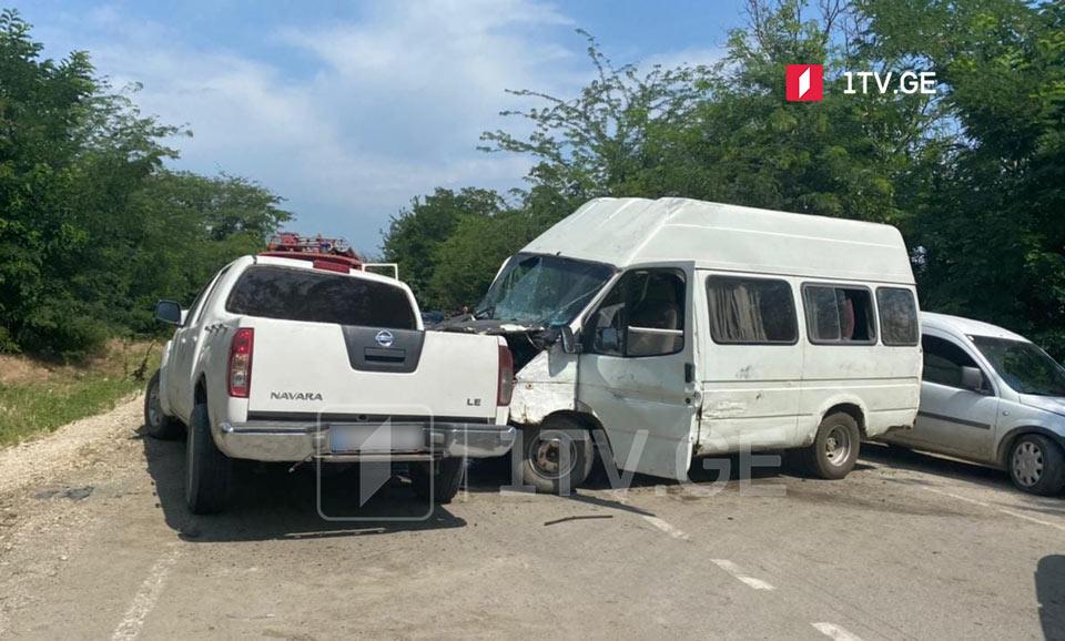 წნორი-დედოფლისწყაროს დამაკავშირებელ გზაზე ავარიისას ორი ადამიანი დაშავდა