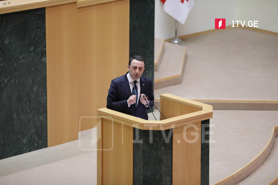 We heard slander, lies and manipulations about gov't performance, we know who we are dealing with, PM Garibashvili says