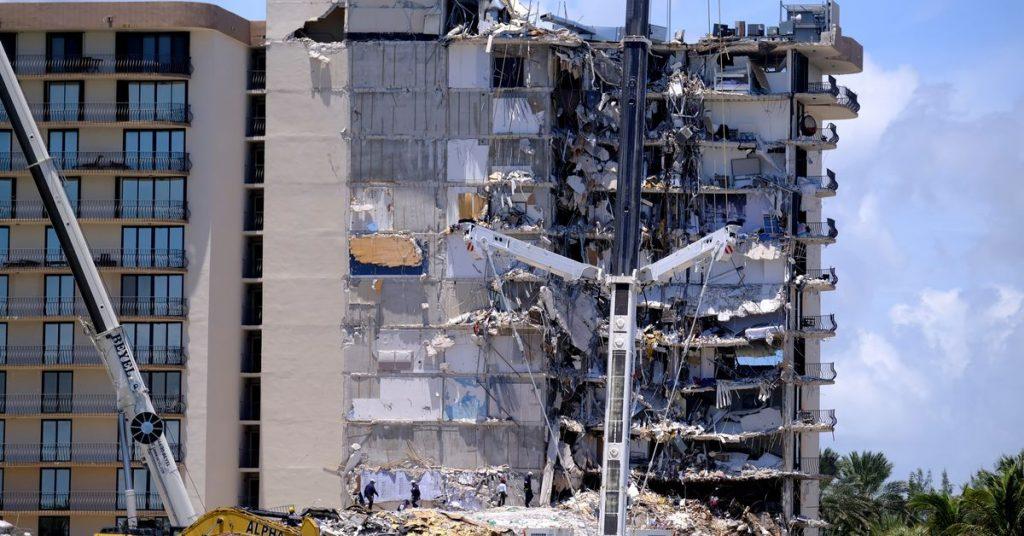 ფლორიდაში 12-სართულიანი შენობის ჩამონგრევის შედეგად დაღუპულთა რიცხვი ათამდე გაიზარდა