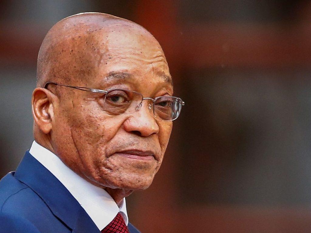 სამხრეთ აფრიკის ყოფილ პრეზიდენტ ჯეიკობ ზუმას 15 თვით პატიმრობა მიუსაჯეს