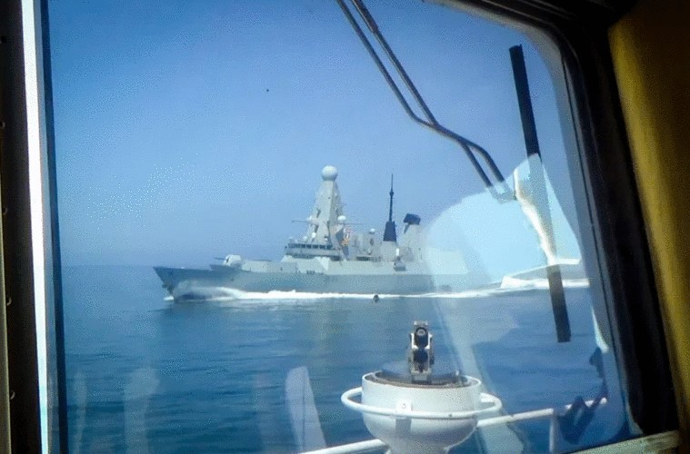 NATO to see chasing British warship in Black Sea as Russia's well-choreographed move, experts believe