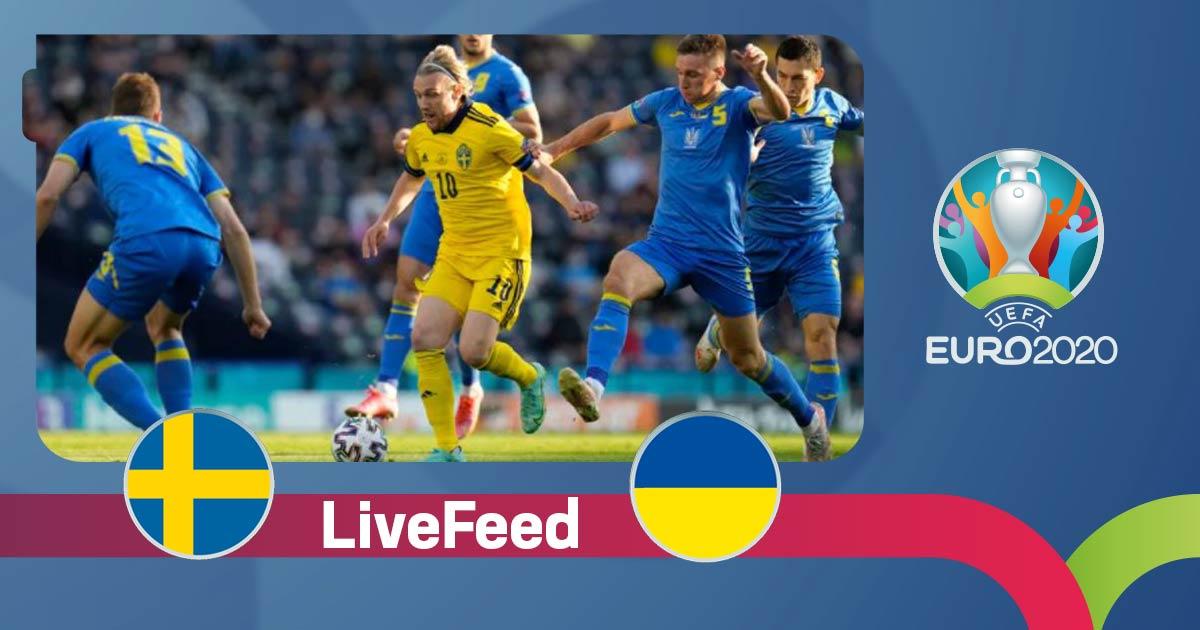 ევრო 2020   გოლი დამატებითი დროის ბოლო წუთზე - შვედეთი VS უკრაინა 1:2 [ვიდეო] #1TVSPORT