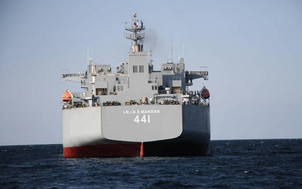 კასპიის ზღვაში ირანის სამხედრო წვრთნები მიმდინარეობს