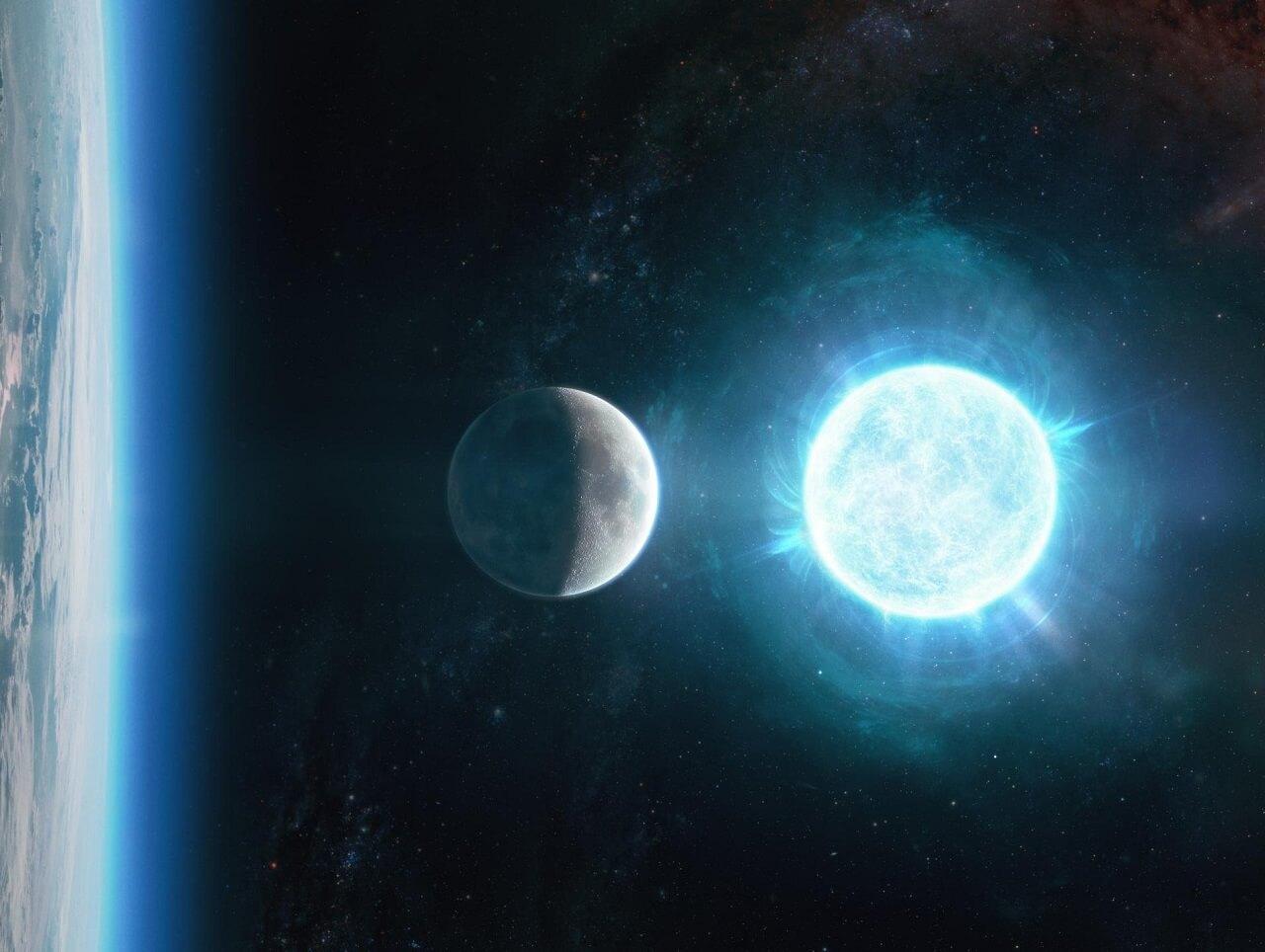 აღმოჩენილია ამ დროისათვის ყველაზე პატარა და ყველაზე მკვრივი მკვდარი ვარსკვლავი — #1tvმეცნიერება