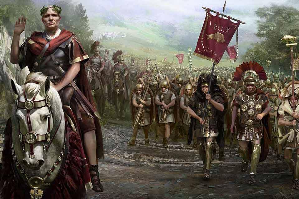 რადიო ექსპრესი - Res Ad Triarios Rediitანუ ორი სიტყვა რომის ლეგიონის შესახებ